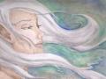 Wind Fairy Fairy Portrait Elf Wind Faerie