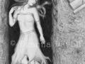 My Dearest Dead Fantasy Art Print Halloween Art Gothic Art Cemetery Art Gravestone Art