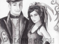 Steampunk Wedding Steampunk Art STEAMPUNK Wedding Fantasy Art Gothic ART Cyberpunk Gears