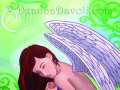 Close To My Heart Angel Art Fantasy Art Print Fairy Art Feather Wings