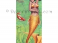Koi Fish Mermaid Art Fantasy Art Print Fantasy Art Pond Lilypad