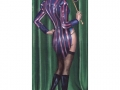 Kitty Cabaret Cabaret Art Print Fantasy Art Burlesque Art Cat Art Mask Masquerade Dancer Cancan
