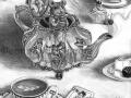 DorMouse Alice in Wonderland Artwork Fantasy Art Gothic Print Victorian Inspired