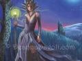 Maleficent Art Sleeping Beauty Art Fantasy Art Print Fairy Tale Art Gothic Art Halloween Art