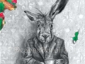 March Hare Art Print Alice in Wonderland Art Gothic Art Fairy Tale Art Victorian Art