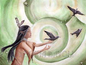 The Messengers native american art